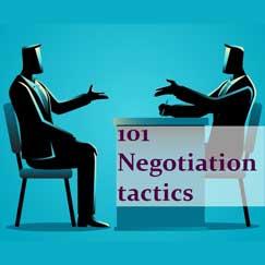 تاکتیک های مذاکره